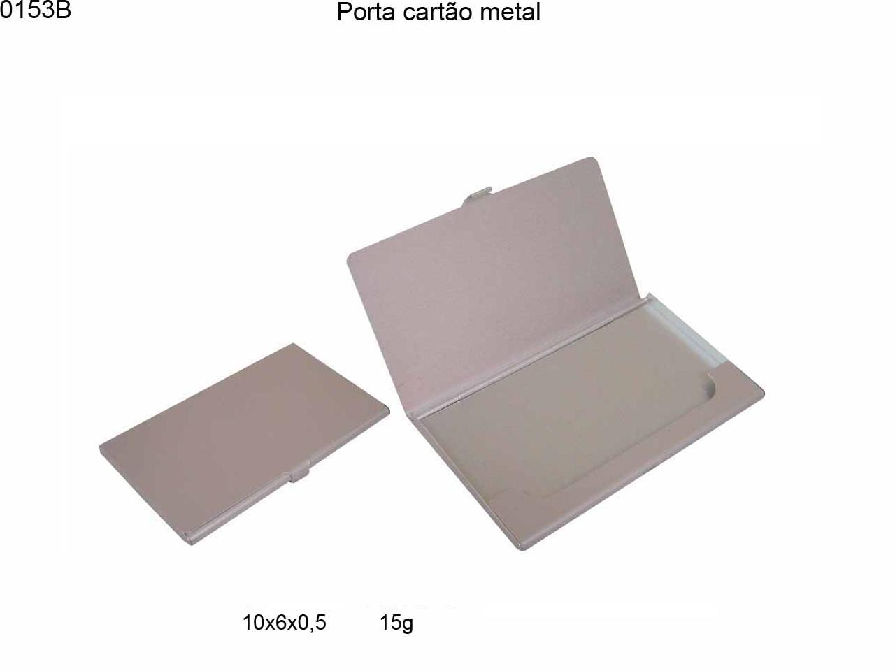 Porta cartao metal (0153B)